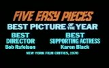 Five Easy Pieces Fragmanı
