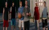 Cehennem Melekleri basketbol sahnesi